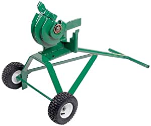 Greenlee 1800 Mechanical Bender for 1/2, 3/4, and 1-Inch IMC and Rigid Conduit with Undercarriage