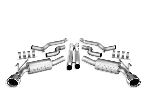 Borla 140280 Cat-Back Exhaust System - CAMARO '10 6.2L V8 AT/MT RWD 2DR (2012 Camaro Exhaust compare prices)