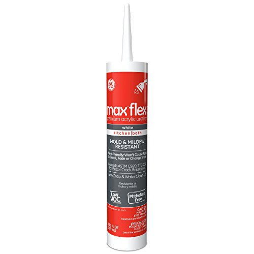 general-electric-ge23895-max-flex-kitchen-and-bath-acrylic-urethane-caulk-101-ounce-white