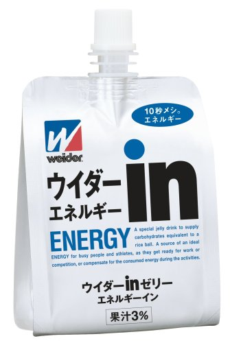 (お徳用ボックス) ウイダーinゼリー エネルギーイン 180g×36個