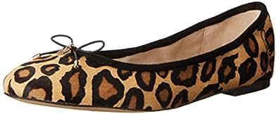 Sam Edelman Women's Felicia Ballet Flat, New Nude Leopard, 5 M US
