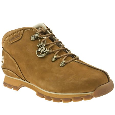 Timberland Splitrock - 6.5 Uk - Tan - Nubuk