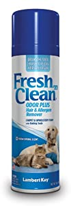 Lambert Kay Fresh 'n Clean Spring Scented Odor Plus Pet Hair/Allergen Remover, 15-Ounce