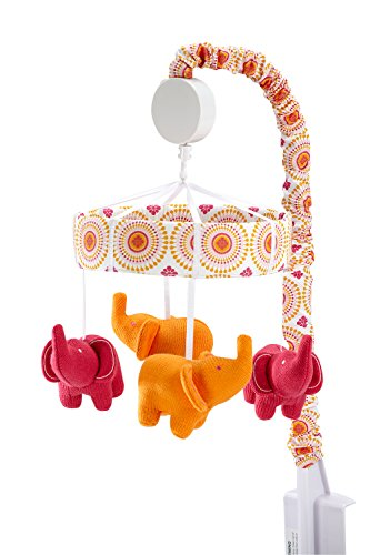 happy chic baby jonathan adler party elephant crib mobile toddler toys mobiles. Black Bedroom Furniture Sets. Home Design Ideas
