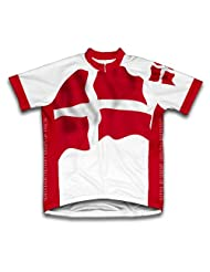 Sovereign Military Order Of Malta Flag Short Sleeve Cycling Jersey for Women