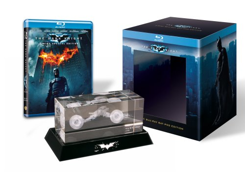 Batman - The Dark Knight (Collector's Edition inklusive Batpod aus Glas) [Blu-ray]