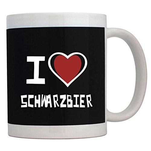 Teeburon I love Schwarzbier Tazza