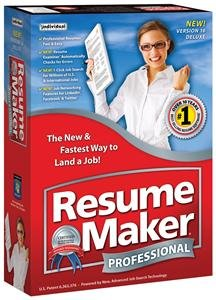 RESUMEMAKER PROFESSIONAL DELUXE 16 (SOFTWARE