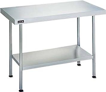 Mesa de centro de los muebles de la cocina Lincat 600 mm largo dimensiones (H) x 900 (W) x 600 (d) 650 mm Peso: 15 kg