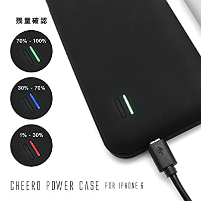 cheero Power Case for iPhone 6 3000mAh バッテリー内蔵ケース
