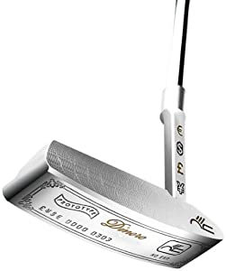 Never Compromise Mens Limited Dinero Baron Blade Putter, Right Hand, 35-Inch by Never Compromise