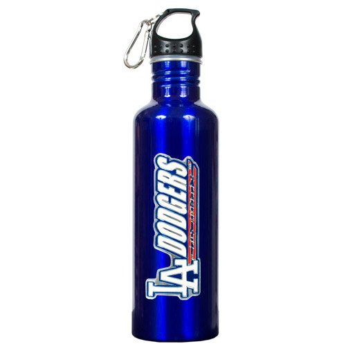 BSS - Los Angeles Dodgers MLB 26oz Blue Stainless Steel Water Bottle at Amazon.com