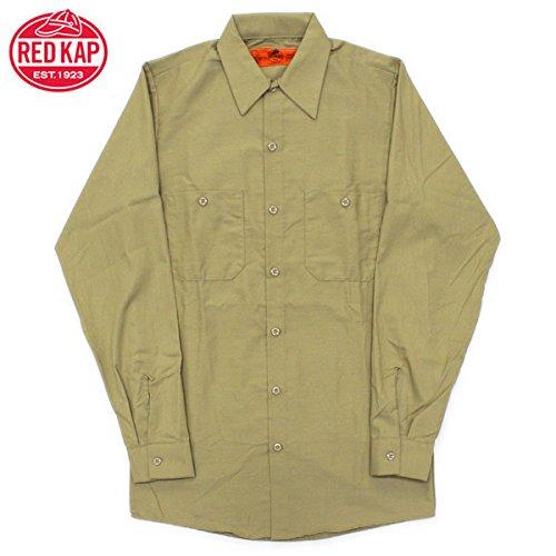 RED KAP(レッドキャップ)/LONG SLEEVE SOLID WORK SHIRTS(長袖ソリッドワークシャツ)