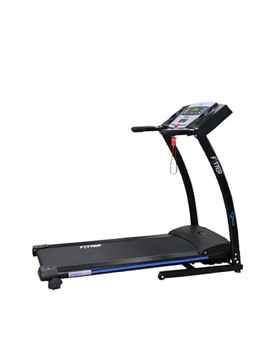 Fytter Gym Tapis Roulant Motorizzato Runner Ru-3X Nero/Blu