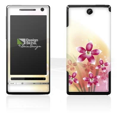 Design Skins für O2 XDA Diamond 2 - Butterfly Orchid Design Folie