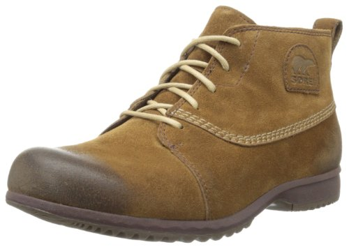 Sorel Mens GREELY CHUKKA Derby#425 Brown Braun (Cafe 218) Size: 40