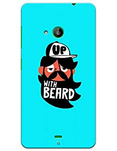 Up With Beard case for Nokia Lumia 535