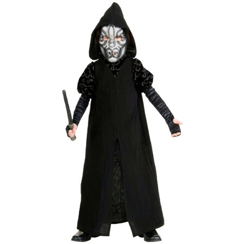 Deluxe Death Eater TM Child Large Costume Harry Potter