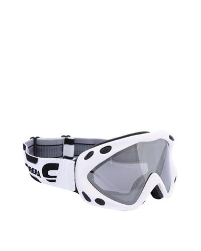 CARRERA SPORT Máscara de Esquí M00124 Kimerik Mat Logo 4O Blanco