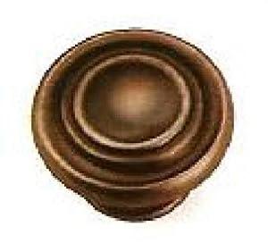 Laurey 51877 Cabinet Hardware 1-3/8-Inch Windsor Knob, Venetian Bronze