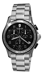 Victorinox Swiss Army Men's 241403 Chrono Classic Chronograph Black Dial Watch by Victorinox Swiss Army