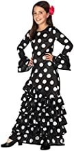 Comprar Atosa 26543 - Flamenco, negro, niño, tamaño 116, negro / blanco