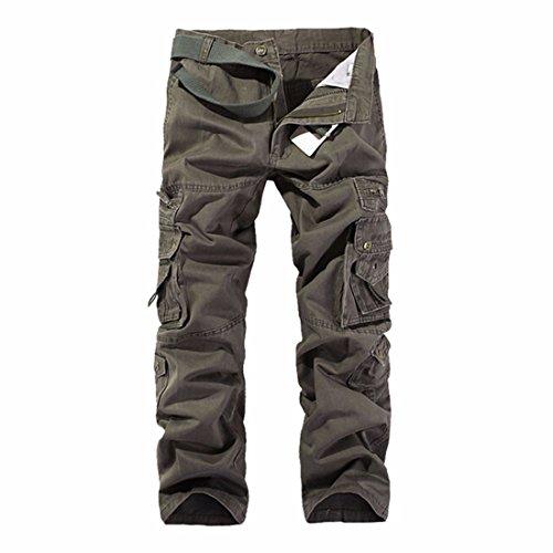 Carico Pantaloni Lunghi Degli Uomini Dell'Esercito Di Combattimento Pantaloni Da Lavoro Tattici Esterni Globali