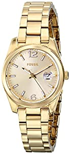 Fossil Women's ES3583 Analog Display Analog Quartz Gold Watch