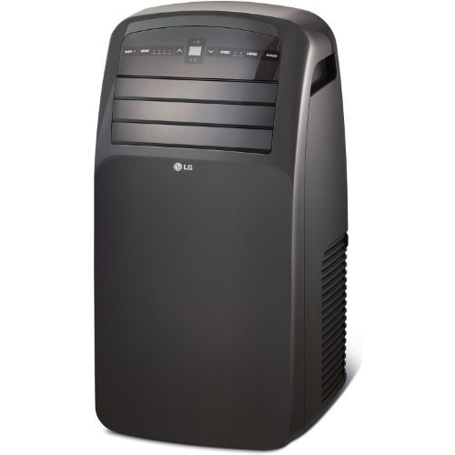LG Electronics LP1214GXR 115-volt Portable Air Conditioner with LCD Remote Control, 12000 BTU