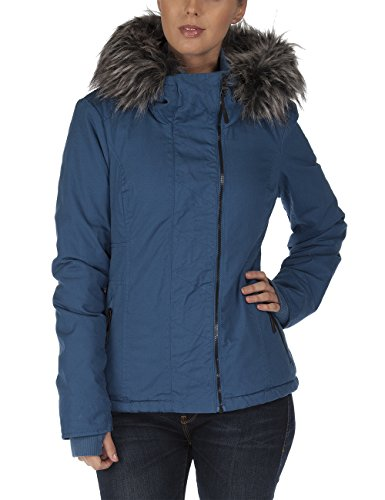 Bench - Jacke Kidder III, Giacca Donna, Blu (Dark Blue), Medium (Taglia Produttore: Medium)