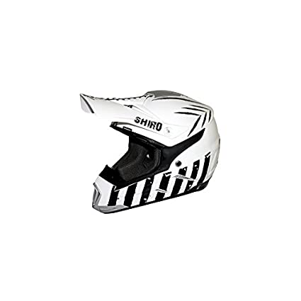 SHIRO HELMETS - CASQUE CROSS SHIRO MX-305 SCORPION BLANC L
