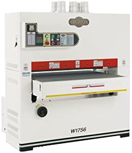 SHOP FOX W1756 25 HP 43-Inch Three Phase Wide-belt Sander