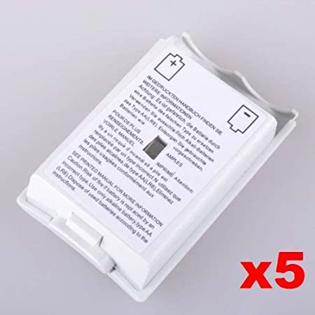 Neewer 5x Battery Pack Cover Shell for Xbox 360 Game Controller