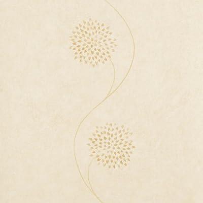 Harlequin Vinyl Wallpaper - Cream Floral - 30478 by Harlequin