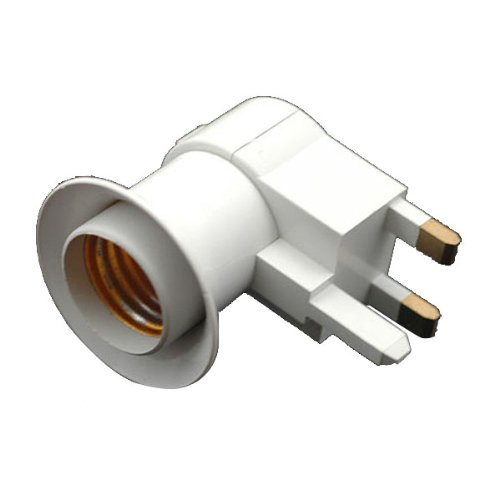 High Quality And Durable Uk Ac Power Plug To E27 Light Bulb Lamp With Switch