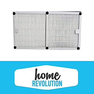 Idylis A Style Home Revolution Brand HEPA Air Purifier Filter replacement; Made to Fit Idylis Air Purifiers IAP-10-100, IAP-10-150; Model # IAF-H-100A