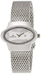 Maxima Attivo Analog Silver Dial Womens Watch - 26441CMLI
