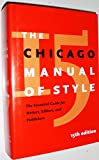 img - for The Chicago Manual of Style book / textbook / text book