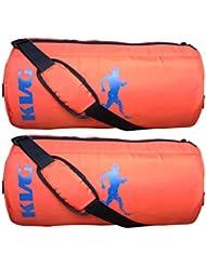 KVG Combo Gym Bag Pack Of 2