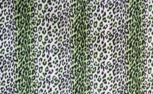Leopard Print Fleece Blanket back-489705