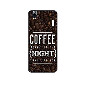 Vibhar printed case back cover for Lenovo A7000 Turbo CoffeeSin