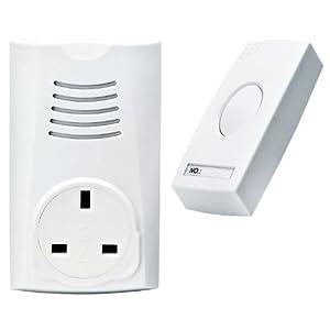 Plug In Wireless Cordless Door Bell Chime DoorBell