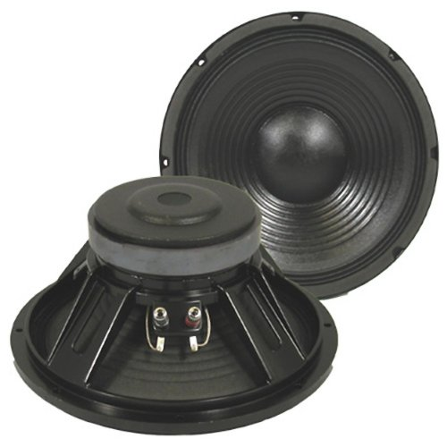 Podium Pro Pp122 1200 Watts 12-Inch Deluxe Pro Audio Dj Pa Karaoke Band Replacement Subwoofer Pair