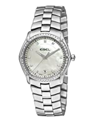 On Sale Ebel Women's 9954Q34/99450 Classic Sport Mother-Of-Pearl Dial Diamond Watch USA Sale