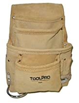 ToolPro Suede Leather Tool and Nail Pouch