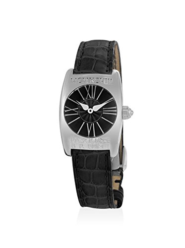Pasquale Bruni Women's 98DANN Black Leather Watch