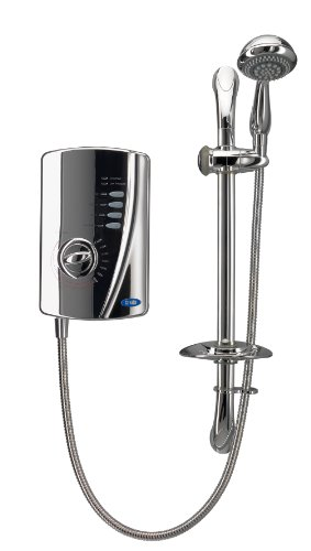 Creda 53557581 10.5kW All Chrome Electric Shower