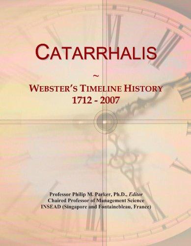 Catarrhalis: Webster's Timeline History, 1712 - 2007
