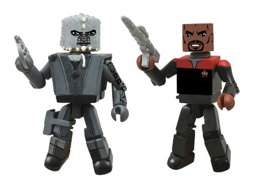 Diamond Select Toys Star Trek Legacy Minimates Series 1 Season 7 Captain Sisko and Jem Hadar Action Figure - 1