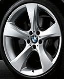 Original BMW Alufelge X3 F25 Sternspeiche 311 in 20 Zoll